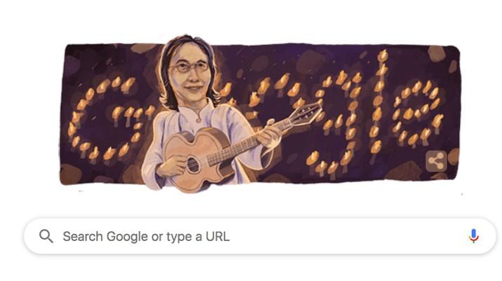 Google Doodle ikut mengenang penyanyi legendaris Chrisye dengan menampilkan karikaturnya hari ini (16/9/2019). Chrisye memang lahir pada hari ini.