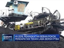 Laba Bersih PTBA Anjlok 24% (YOY) Di Semester I 2019