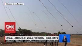 VIDEO: Layang-Layang Ular & Naga Hiasi Langit Teluk Penyu