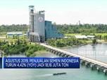 Akhir Agustus 2019, Penjualan Semen Indonesia Turun