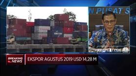 BPS : Ekspor Bulan Agustus 2019 Mencapai USD 14,28 M