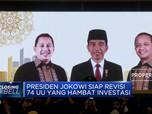 Presiden Jokowi Siap Revisi 74 UU Demi Muluskan Investasi