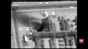 VIDEO: Kerusakan Kilang Minyak Saudi Usai Diserang Drone