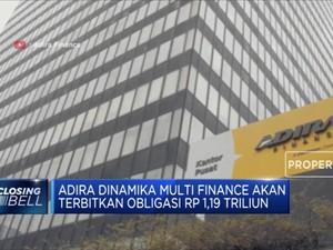 Adira Dinamika Multi Finance Terbitkan Obligasi Rp 1,19 T
