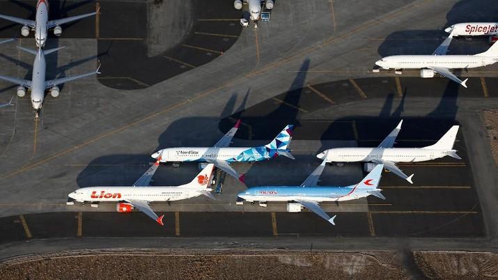 Boeing Co mengatakan maskapai India akan memesan sekitar 2.380 pesawat buatannya selama 20 tahun ke depan