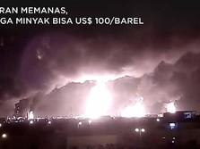 Balas Dendam! Iran Tembakkan Roket ke Pangkalan AS di Irak