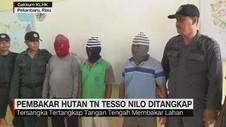 VIDEO: Pembakar Hutan TN Tesso Nilo Ditangkap