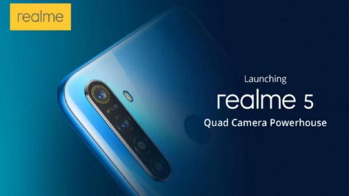 Realme 5 Masuk RI 19 September, Ini Spesifikasi dan Harganya