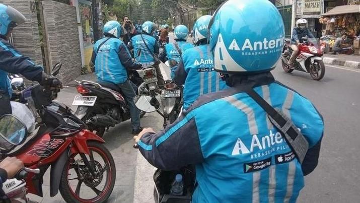 Meski pasar ojek oline dan transportasi online tanah air semakin ketat, Anterin berani menantang dominasi Grab dan Gojek tanpa gunakan strategi bakar uang.