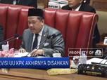 DPR Sahkan UU KPK Hasil Revisi