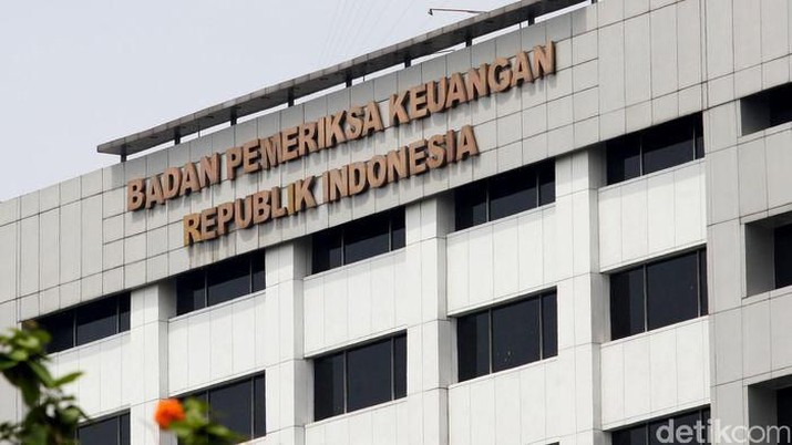 Gedung BPK (detik.com/Ari Saputra)