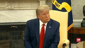 VIDEO: Jawaban Trump Soal Peluang Berperang Dengan Iran