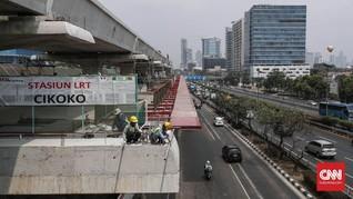 Uji Coba LRT Jabodebek Rute Cibubur-Cawang Mulai Minggu Ini
