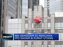BEI Genggam 32 Rencana IPO Saham dan Surat Utang