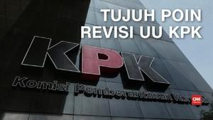 VIDEO: DPR-Pemerintah Sepakat Tujuh Poin Revisi UU KPK
