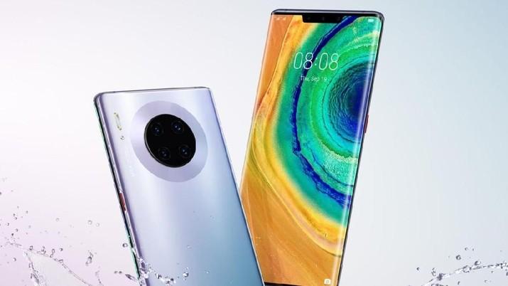 Huawei memperkenalkan ponsel 5G yang diklaim tercanggih, Huawei Mate 30 dan Huawei Mate 30 Pro kepada publik. Ponsel ini akan menjadi penantang iPhone 11.
