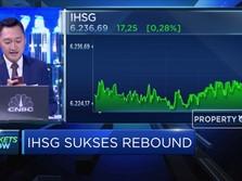 Sempat Terkoreksi 2%, Akhirnya IHSG Reboud