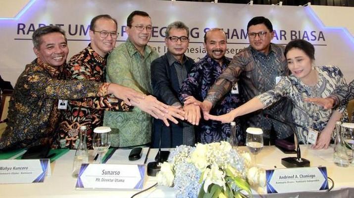 Presiden Joko Widodo (Jokowi) menyebutkan PT Bank Rakyat Indonesia Tbk (BBRI) sebagai bank satu-satunya yang fokus ke sektor UMKM.