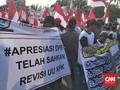 Peserta Aksi Mengaku Diongkosi Demo Dukung Revisi UU KPK