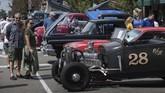 Pameran ini diharapkan bisa menarik ribuan pengunjung dari seluruh California Selatan. (Photo by Mark RALSTON / AFP)