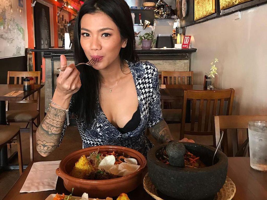 Kulineran Tiga Setia Gara, Wanita yang Diduga Alami KDRT di Amerika