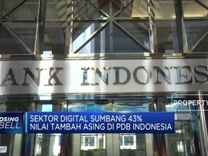 BI: Sektor Digital Sumbang 43% Terhadap PDB Indonesia
