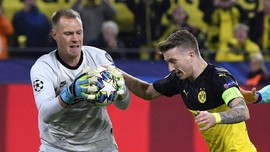 Tepis Penalti Dortmund, Ter Stegen Andalkan Intuisi