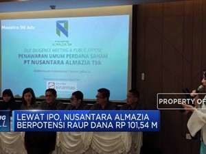 Nusantara Almazia Incar Dana IPO Rp 101,54 M