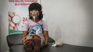 FOTO: Korban Kabut Asap Karhutla