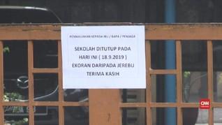 VIDEO: Kabut Asap Buat Malaysia Tutup Sekolah