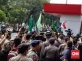 Demo Tolak RUU KPK dan Firli, Massa HMI Bentrok dengan Polisi