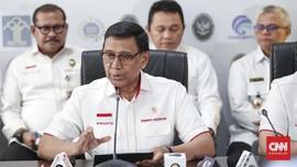 Usai Dipanggil Jokowi, Wiranto Gelar Rapat Tertutup