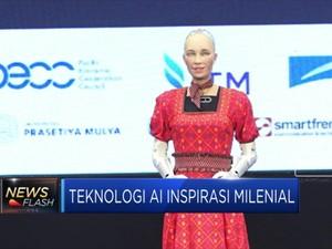 Sophia, Robot dengan AI Menginspirasi Milenial Indonesia