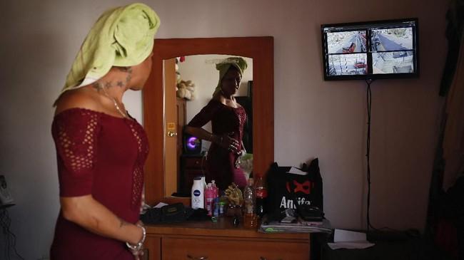 Meksiko adalah salah satu negara yang paling mematikan bagi kelompok transgender selain Brasil. (AP Photo/Ginnette Riquelme)