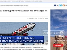Waduh! Data Penumpang Lion Air Bocor