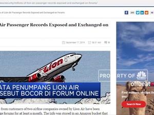 Waduh! Data Penumpang Lion Air Bocor