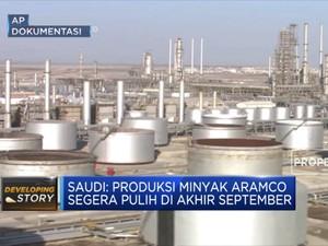 Arab Saudi Siap Pulihkan Pasokan Minyak Pasca Serangan