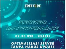Kisah Garena Free Fire Maintenance Diam-diam & Server Down