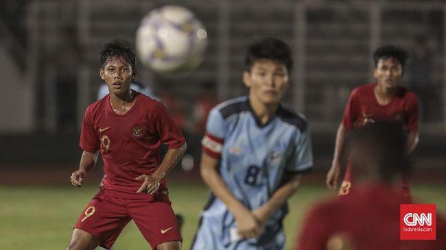 Pemain Timnas Indonesia U-16 Dilarang Rayakan Gol