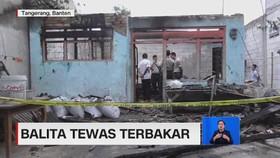 VIDEO: Tragis! Balita Tewas Terbakar