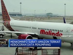 Data Penumpang Lion Air Bocor, Menkominfo Surati Amazon