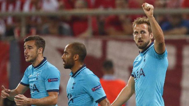Hasil Liga Champions: Tottenham Ditahan Imbang Olympiakos 2-2