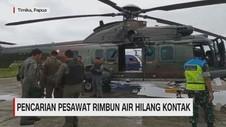 VIDEO: Pencarian Pesawat Rimbun Air Hilang Kontak