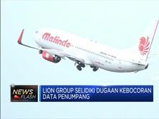 Data Penumpang Bocor, Lion Group Lakukan Penyelidikan