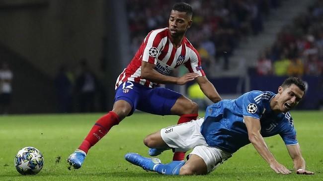 Atletico Madrid menjamu Juventus dalam matchday pertama Liga Champions di Stadio Wanda Metropolitano, Rabu (18/9) malam waktu setempat. (AP Photo/Manu Fernandez)