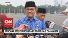 VIDEO: Rencana Formula E di Jakarta Dilaksanakan 2020