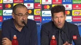 VIDEO: Sarri Marah Juventus Ditahan Imbang Atletico