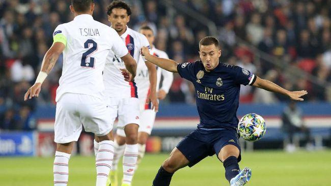Dibantai PSG 0-3, Madrid Gagal Bikin Tembakan Tepat Sasaran
