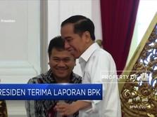 Presiden Terima Laporan BPK