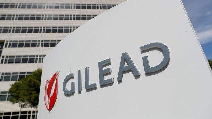 FILE PHOTO: A Gilead Sciences, Inc. office is shown in Foster City, California, U.S. May 1, 2018. REUTERS/Stephen Lam/File Photo